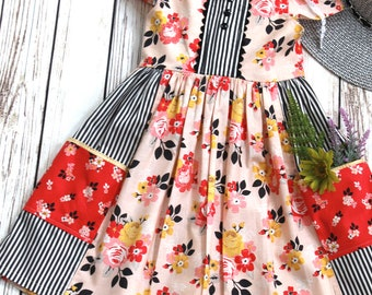 Girls Spring Dress - Girls Dress - Girls Summer Dress - Toddler Spring Dress - Toddler Dress - Toddler Summer Dress