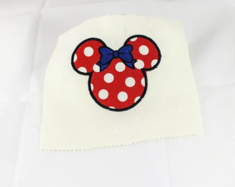 Applique Minnie Mouse Design - Digital Minnie Mouse - Minnie Mouse Applique Design - Embroidery Design - Instant Download