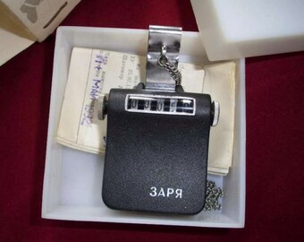 Vintage Soviet Russian Pedometer