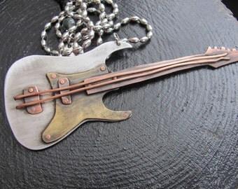 Jewelry Guitar, Guitar Necklace, Music Jewelry, Misic Gift Guitar, Guitar Jewelry, Guitar Gift, Pendant Guitar, Charm Guitar, Music Necklace