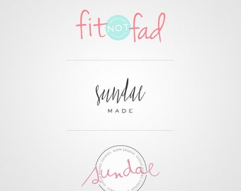 Logo Design - Photography Logo - Custom Logo - Blog Branding - Blog Logo - LipSense Logo - Direct Sales Logo