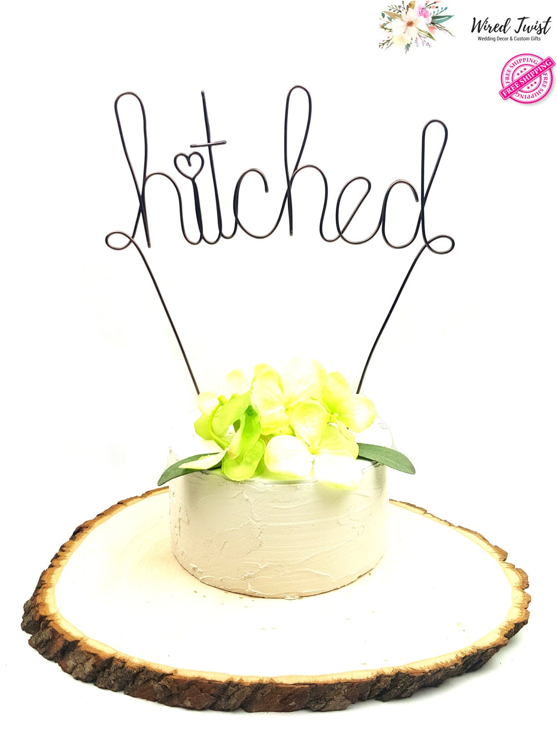 Unique Wire Wedding Cake Toppers Ornament - The Wedding Ideas ...