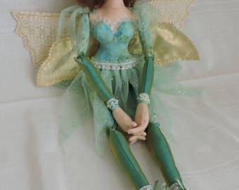 Cloth Art Doll, Fairy