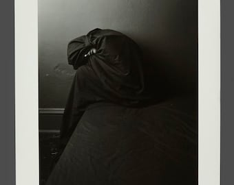 1980s Black & White Photograph Vintage Art Photo 11 x 14