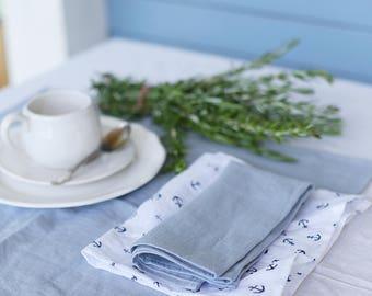 Handmade Washed Soft Linen Napkins | Table Set | Soft Linen Napkins | Set Of Napkins | Table Decoration | Home Decor | Washed Soft Linen |