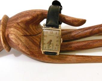 Ladies Hamilton Watch, Women's Vintage Watch, 10K Gold Filled, Collectible Watch, Working Unique Vintage Watch, Boomer Mountain