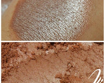 Root Beer Float - Shimmery Brown Eyeshadow Pigment - ili