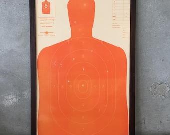 Shooting Target Framed Art (AQCA97)
