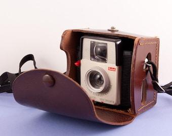 Kodak Brownie Starlet Camera - Vintage Camera - Kodak Camera - Collectible Camera - Leather Case