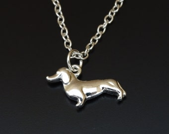 Dachshund Necklace, Doxie Necklace, Dachshund Charm, Dachshund Lover Gift, Weiner Dog Jewelry, Weiner Necklace, Doxie Necklace,Doxie Jewelry