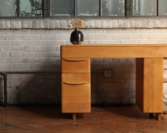 Restored Heywood Wakefield M783 Student Desk