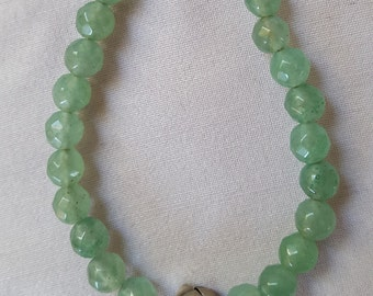 Faceted green Aventurine