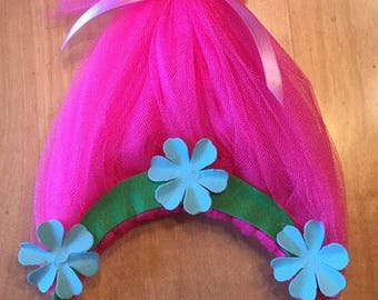 Pricess Poppy Troll Headband