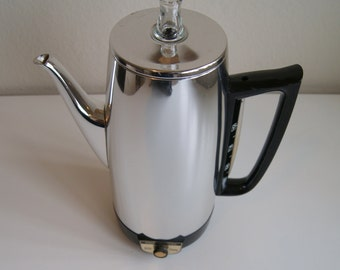 Vintage General 9 Cup Electric Coffee Percolator