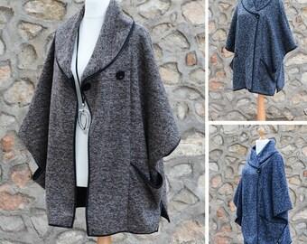 On Sale**  Lagenlook Jacket Wrap Cardigan Pockets Coatigan Plus Sizes 14 16 18 20 22 24 26 28 L XL XXL XXXL 16191
