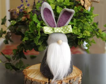 Easter basket gift etsy easter bunny gnomes scandinavian gnomes get well soon easter baskets gifts for negle Image collections