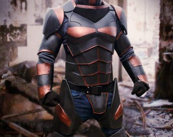 Deathstroke V2.0 cosplay costume foam templates