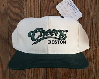 Vintage Deadstock Cheers Boston Snapback Hat Baseball Cap