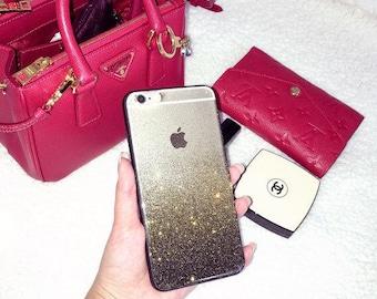 Golden Glow Clear iPhone 7 case iPhone 7 Plus case iPhone 6S case iPhone 6S Plus case iPhone 6 case iPhone 6 Plus case iPhone SE case