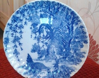 Chinese Blue and White Decorative Plate