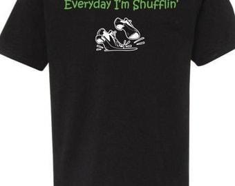 Everyday I'm Shufflin' Boys Dance Shirt