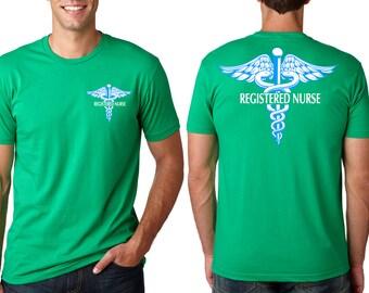 Nurse T-Shirt  Registered Nurse  Gift For Nurses Caduceus Symbol Nurse Gift Ideas