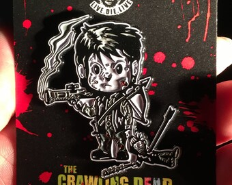 Baby Daryl Dixon Limited Edition Enamel Pin The Walking Dead