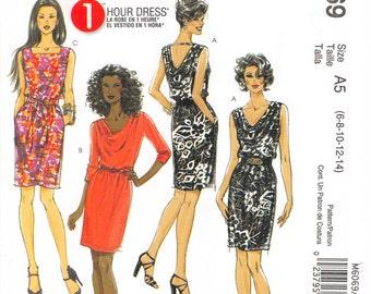 Size 6 red dress illustration