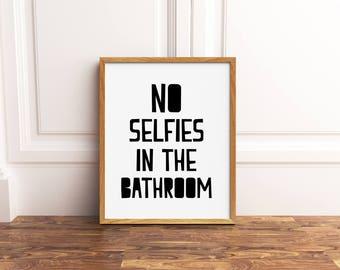 Bathroom Printable, Funny Bathroom Art, Funny Bathroom Signs, Instant Download Bathroom Decor, Funny Bathroom Decor, Bathroom Wall Decor