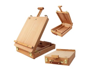 French-Design Easel + Interior Storage Box @ From USA