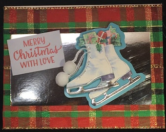 Handmade Greeting Card - Merry Christmas With Love