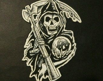 Parche Sons of Anarchy (Hand Painted) Patch