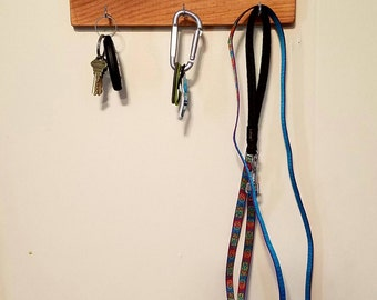 His/Hers/Dog Key and Leash Holder