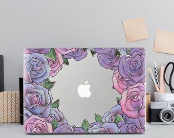 Floral Case Macbook 12 Pro Macbook Apple Mac Case macbook pro 15 case macbook air 11 case macbook case air 13 macbook pro retina 15 case