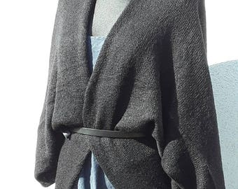 Oversize Cardigan Cardigans for Women Knitting Patterns Womens Sweaters Mohair Black