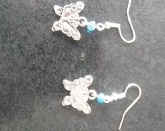 Handmade charmed earrings