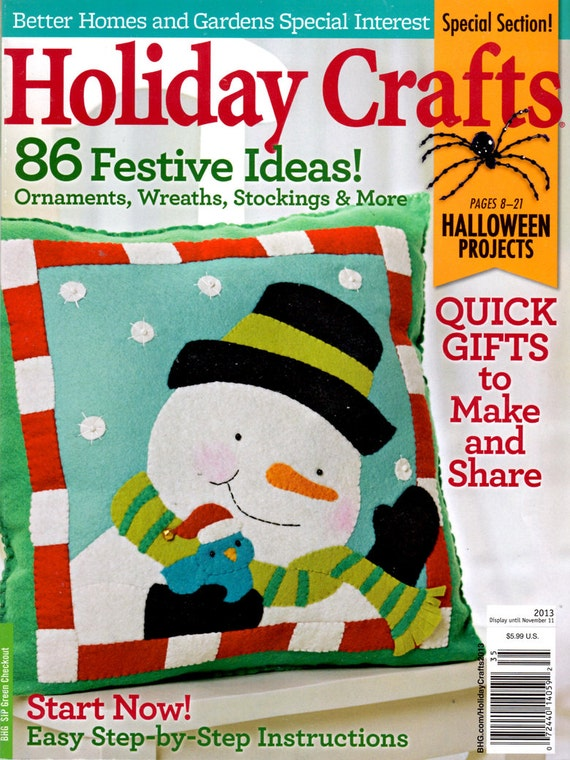 Holiday crafts 2013 better homes and gardens special interest Better homes and gardens christmas special