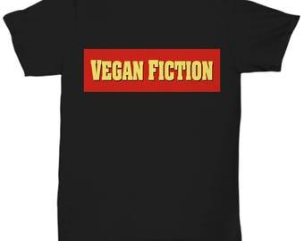 VEGAN FICTION Unisex Tshirt for VEGANS Tee