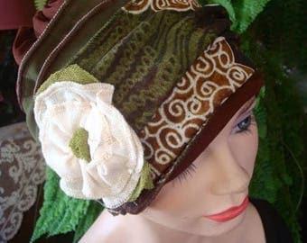 womens hat autumn mesh chemo hat lightweight  chemo headcover chemotherapy