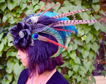 DARK DREAMS Feather Headdress SALE
