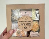 New Mom Gift: You're Not a Regular Mom, You're a COOL Mom Gift Box for Expectant Mom or Baby Shower Gift
