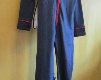Frederick's of Hollywood Naval Jumpsuit Halloween Medium
