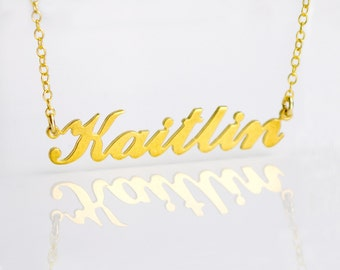gold name plate etsy