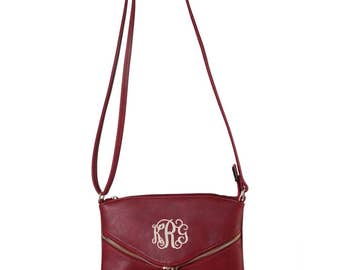 Monogrammed Purse with Tassel| Personalized Handbag | Personalized Tassel Purse | Multiple Colors