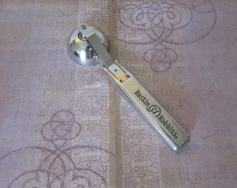 Vintage Baskin Robbins Cast Aluminum Push Button Ice Cream Scoop Buildit Engineering