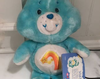 Care Bears 1980s SALE  Wish Bear With Original Tag