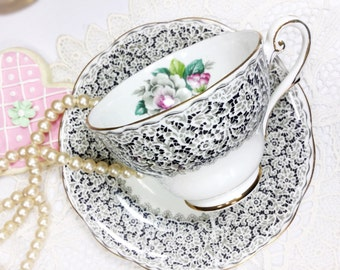 Royal Standard Keepsake Fine Bone China English Tea Cup & Saucer, Party, Wedding Shower, Tea Time, Bridal, Tea Party, Gift  #740