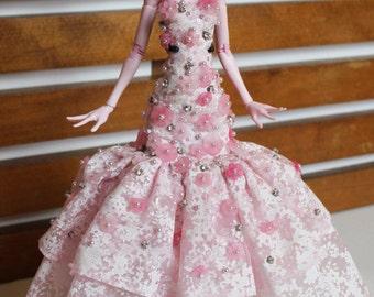Lilly - OOAK Custom 17 in Draculaura Monster High Doll