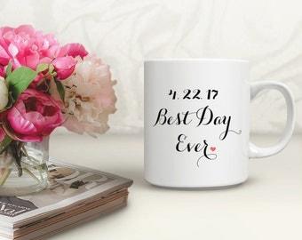 Mug for Future Mrs, Future Mrs Mug Mug, Wedding Day Mug, Best Day Ever Mug, Bride Coffee Mug, Bridal Mug, Bridal Gift Idea, Mug, mu0133