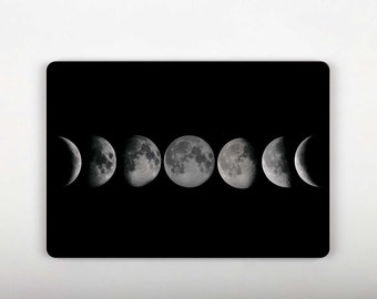 Moon Decal Moon Phases Skin for Macbook Laptop Skins Mac Air Decal Macbook Laptop Vinyl Sticker Pro Retina Decal 13 Sticker 12 Macbook SG076